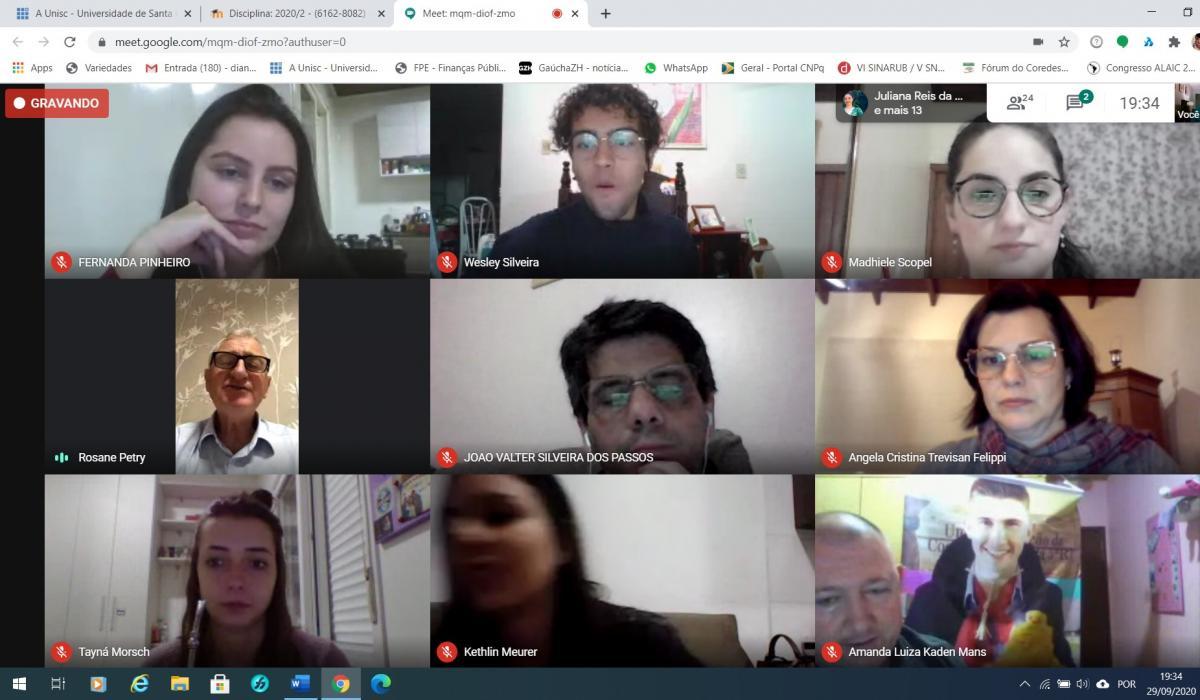 Alunos dos cursos de Comunicação da Unisc mobilizam para a Consulta Popular